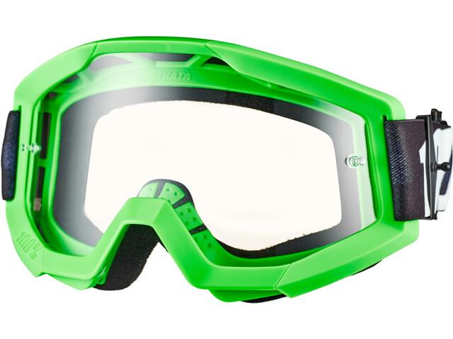 100% Strata Goggles, groen